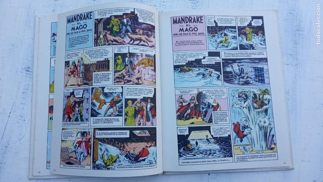 Tebeos: NOVENO ARTE - MANDRAKE - EDI. PALA 1973 - LEE FALK & PHIL DAVIS - TAPA DURA - Foto 6 - 212219637