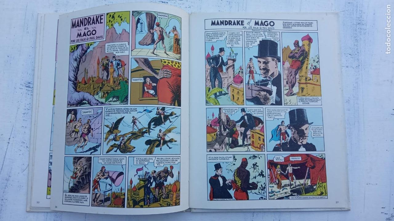Tebeos: NOVENO ARTE - MANDRAKE - EDI. PALA 1973 - LEE FALK & PHIL DAVIS - TAPA DURA - Foto 7 - 212219637