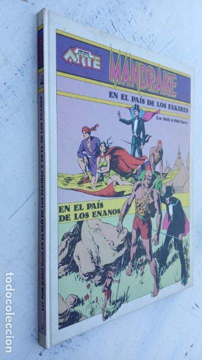 NOVENO ARTE - MANDRAKE - EDI. PALA 1973 - LEE FALK & PHIL DAVIS - TAPA DURA (Tebeos y Comics - Tebeos Otras Editoriales Clásicas)
