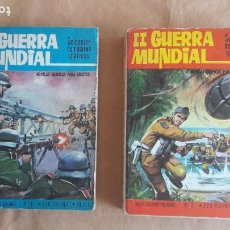 BDs: II GUERRA MUNDIAL. SELECCIÓN DE RELATOS GRÁFICOS - EUREDIT (EUROCOMBATE) 1969 - COMPLETA NÚMS. I-IV. Lote 212279777