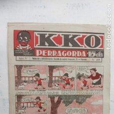 Tebeos: KKO PERRAGORDA Nº 265 EN UN PLIEGO. Lote 212312613