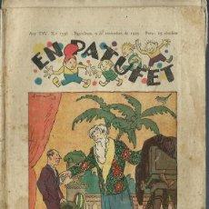 Tebeos: PATUFET Nº 1336 - 9 NOVEMBRE 1929 - PORTADA DE JUNCEDA. Lote 212515591