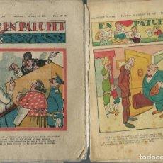 Tebeos: 6 PATUFET DE L'ANY 1936 - ORIGINALS:. Lote 212516210