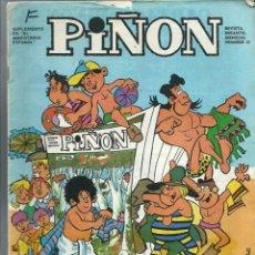 Tebeos: PIÑON Nº 27 - SUPLEMENTO DE EL MAGISTERIO ESPAÑOL - JUNIO 1971. Lote 212528565