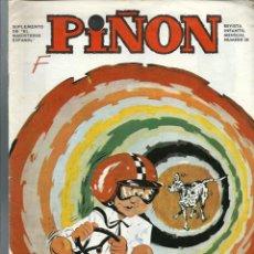 Tebeos: PIÑON Nº 26 - SUPLEMENTO DE EL MAGISTERIO ESPAÑOL - MAYO 1971. Lote 212528706