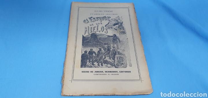JULIO VERNE - EL ESFINGE DE LOS HIELOS (Tebeos y Comics - Tebeos Clásicos (Hasta 1.939))