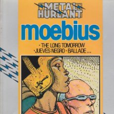 Giornalini: COMIC COLECCION HUMANOIDES THE LONG TOMORROW MOEBIUS. Lote 212701495