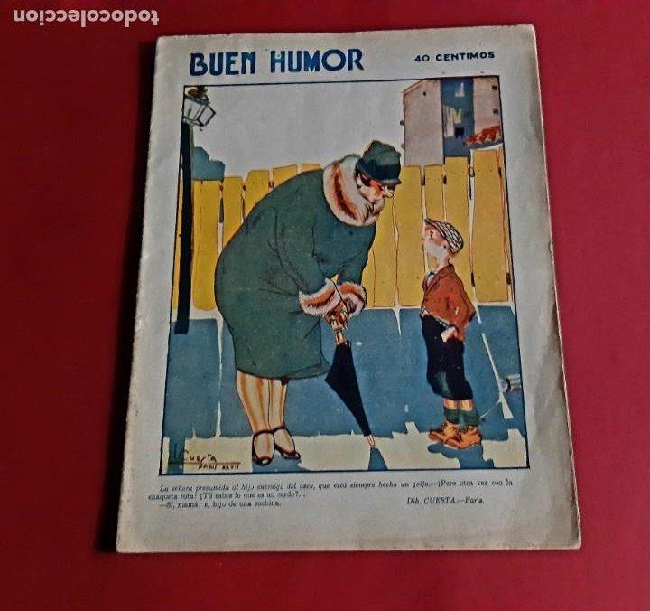 BUEN HUMOR Nº 309 -AÑO 1927-MADRID (Tebeos y Comics - Tebeos Clásicos (Hasta 1.939))