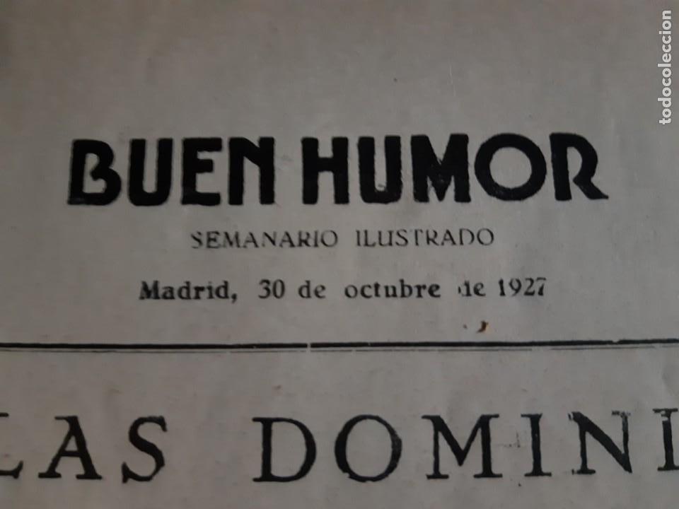 Tebeos: BUEN HUMOR Nº 309 -AÑO 1927-MADRID - Foto 2 - 212829190