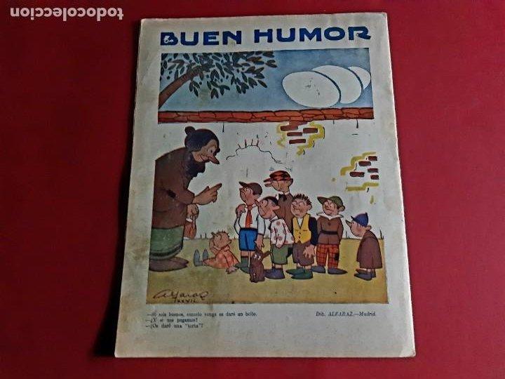 Tebeos: BUEN HUMOR Nº 309 -AÑO 1927-MADRID - Foto 3 - 212829190