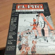 Tebeos: EL PITO Nº 16 14 MARZO 1967 . FICHA Y POSTER CLUB DEPORTIVO TENERIFE CONTRAPORTADA (AB-2). Lote 213315618