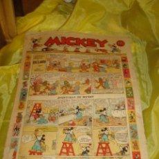Tebeos: MICKEY. REVISTA INFANTIL ILUSTRADA. Nº 20. JULIO 1935. Lote 213650807