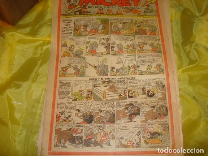 MICKEY. REVISTA INFANTIL ILUSTRADA. Nº 47. 25 DE ENERO 1936 (Tebeos y Comics - Tebeos Clásicos (Hasta 1.939))