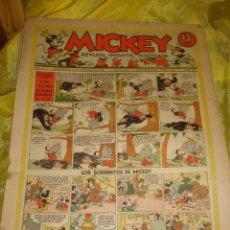 Tebeos: MICKEY. REVISTA INFANTIL ILUSTRADA. Nº 52. 29 FEBRERO 1936. Lote 213653215