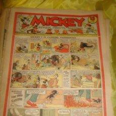Tebeos: MICKEY. REVISTA INFANTIL ILUSTRADA. Nº 43. 28 DE DICIEMBRE 1935. Lote 213654007
