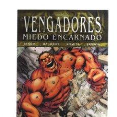 Livros de Banda Desenhada: LOS VENGADORES MIEDO ENCARNADO N,13. Lote 213702088