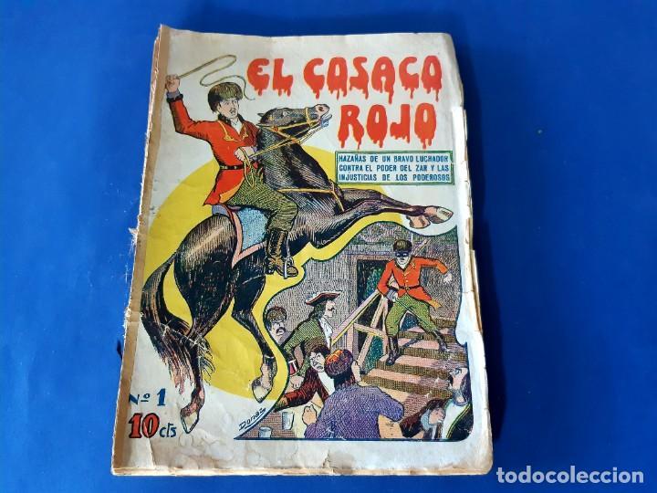 """Tebeos: EL COSACO ROJO -EDITORIAL """" EL GATO NEGRO""""-COMPLETA-24 NUMEROS- 1910-MUY DIFICIL-PORTADAS DE DONAZ - Foto 2 - 213808722"""
