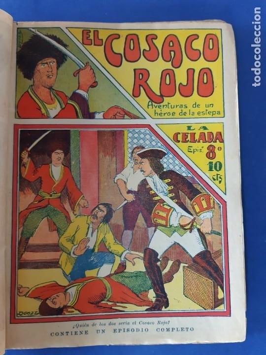 """Tebeos: EL COSACO ROJO -EDITORIAL """" EL GATO NEGRO""""-COMPLETA-24 NUMEROS- 1910-MUY DIFICIL-PORTADAS DE DONAZ - Foto 11 - 213808722"""
