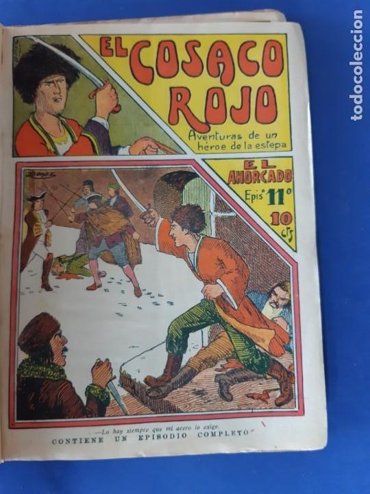 """Tebeos: EL COSACO ROJO -EDITORIAL """" EL GATO NEGRO""""-COMPLETA-24 NUMEROS- 1910-MUY DIFICIL-PORTADAS DE DONAZ - Foto 14 - 213808722"""