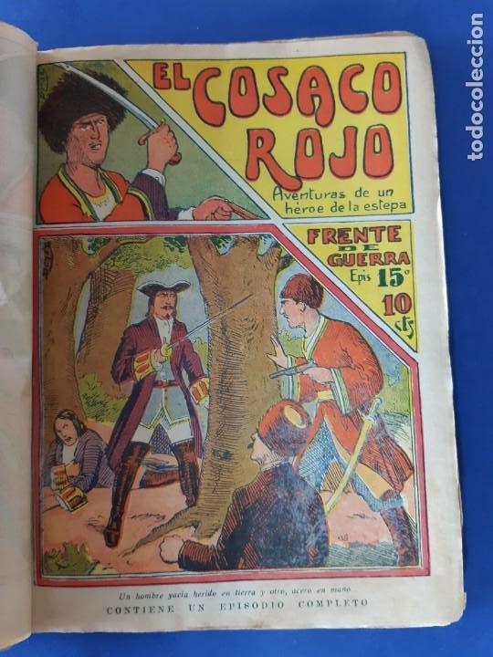"""Tebeos: EL COSACO ROJO -EDITORIAL """" EL GATO NEGRO""""-COMPLETA-24 NUMEROS- 1910-MUY DIFICIL-PORTADAS DE DONAZ - Foto 17 - 213808722"""