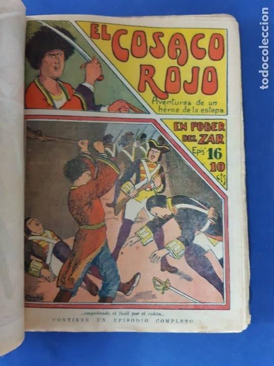 """Tebeos: EL COSACO ROJO -EDITORIAL """" EL GATO NEGRO""""-COMPLETA-24 NUMEROS- 1910-MUY DIFICIL-PORTADAS DE DONAZ - Foto 18 - 213808722"""