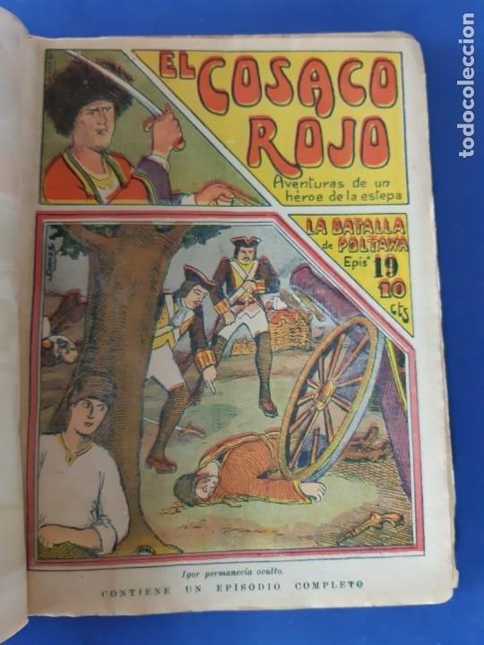"""Tebeos: EL COSACO ROJO -EDITORIAL """" EL GATO NEGRO""""-COMPLETA-24 NUMEROS- 1910-MUY DIFICIL-PORTADAS DE DONAZ - Foto 21 - 213808722"""