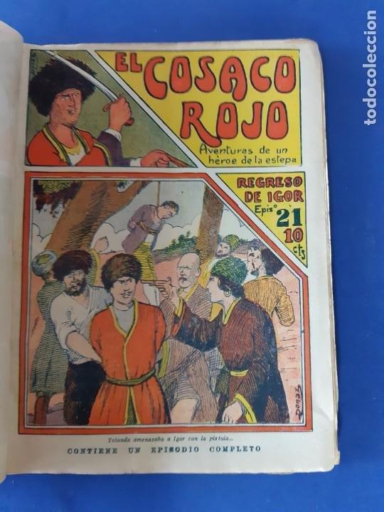 """Tebeos: EL COSACO ROJO -EDITORIAL """" EL GATO NEGRO""""-COMPLETA-24 NUMEROS- 1910-MUY DIFICIL-PORTADAS DE DONAZ - Foto 23 - 213808722"""