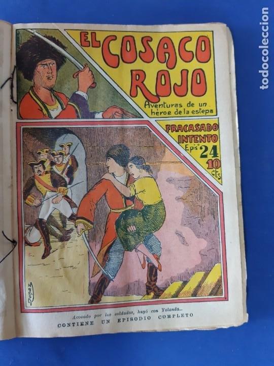 """Tebeos: EL COSACO ROJO -EDITORIAL """" EL GATO NEGRO""""-COMPLETA-24 NUMEROS- 1910-MUY DIFICIL-PORTADAS DE DONAZ - Foto 25 - 213808722"""