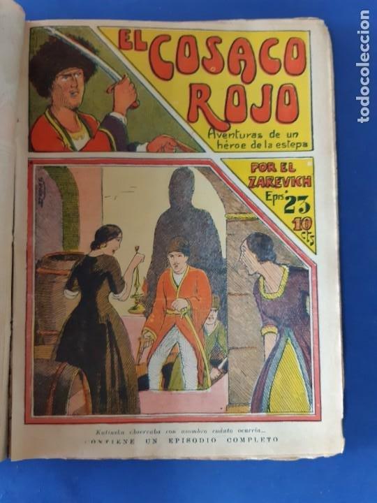 """Tebeos: EL COSACO ROJO -EDITORIAL """" EL GATO NEGRO""""-COMPLETA-24 NUMEROS- 1910-MUY DIFICIL-PORTADAS DE DONAZ - Foto 26 - 213808722"""