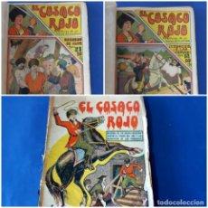 """Tebeos: EL COSACO ROJO -EDITORIAL """" EL GATO NEGRO""""-COMPLETA-24 NUMEROS- 1910-MUY DIFICIL-PORTADAS DE DONAZ. Lote 213808722"""