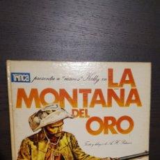 Tebeos: COMIC - TRINCA Nº 15 PRESENTA MANOS KELLY II EN LA MONTAÑA DEL ORO. PALACIOS. ED. DONCEL 1970. Lote 213817898