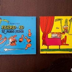 Tebeos: COMICS - THE WIZARD OF ID. EL MAGO FEDOR 1 Y 2 DE PARKER Y HART - DISTRINOVEL - 1981. Lote 214254930