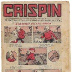 Tebeos: CRISPIN Nº 289, GATO NEGRO 1922 - LEER DESCRIPCION Y VER FOTOS. Lote 214322908