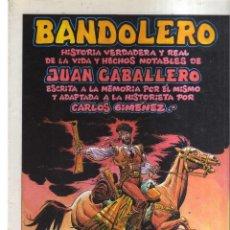 Tebeos: BANDOLERO JUAN CABALLERO N,38. Lote 214343007