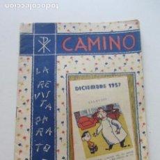 Tebeos: CAMINO Nº 12 DICIEMBRE DE 1957 CX65. Lote 214398945