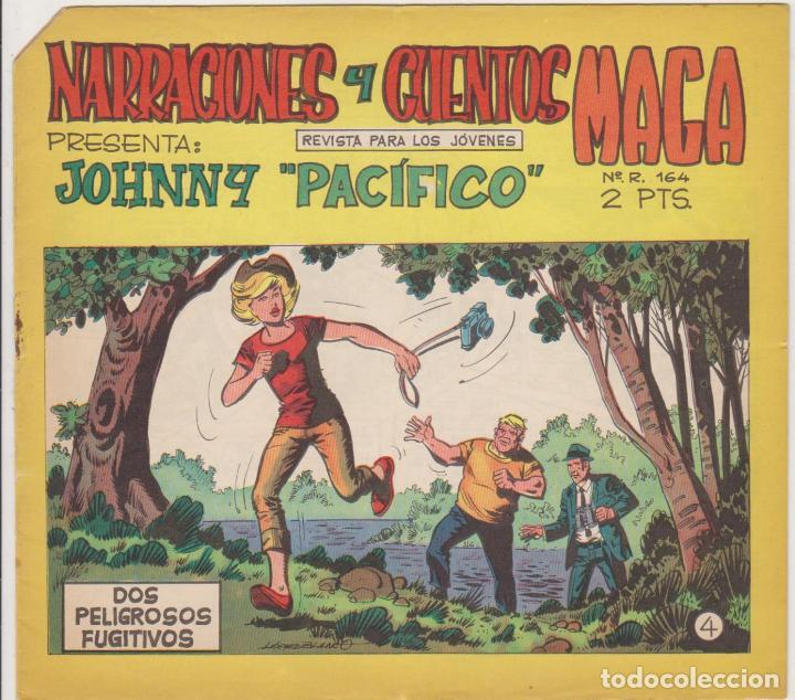JOHNNY PACÍFICO Nº 4. MAGA 1965 (Tebeos y Comics - Tebeos Otras Editoriales Clásicas)
