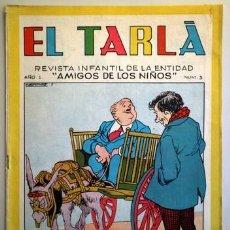 Tebeos: EL TARLÁ. Nª 3 -BARCELONA 1963 - MUY ILUSTRADO. Lote 207089082