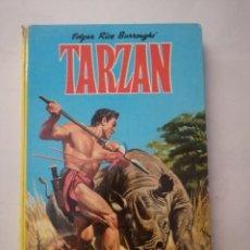 Tebeos: TARZAN. EDGAR RICE BURROUGHS .EDICIONES LAIDA.TAPA DURA.. Lote 215183516