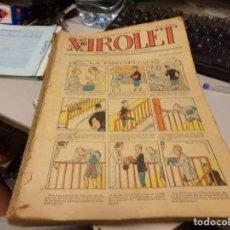 Tebeos: VIROLET - 1926 - TOMOS JUNTOS 47 NUMEROS - SUPLEMENT ILUSTRAT - CATALÀ. Lote 215324561