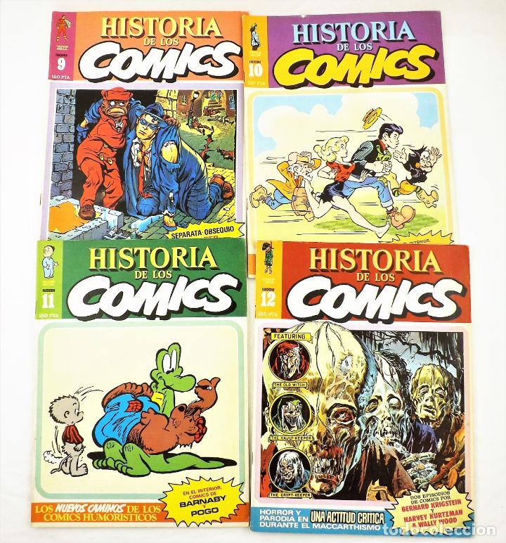 Tebeos: Historia de los comics fasciculos 9,10, 11 y 12 Toutain Editor - Foto 2 - 215347807