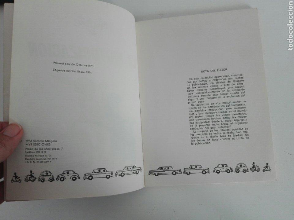 Tebeos: LA MOTORIZACIÓN- COLECCION MINGOTE N1- MYR EDICIONES- 87 PAG -1973 - Foto 3 - 215415192