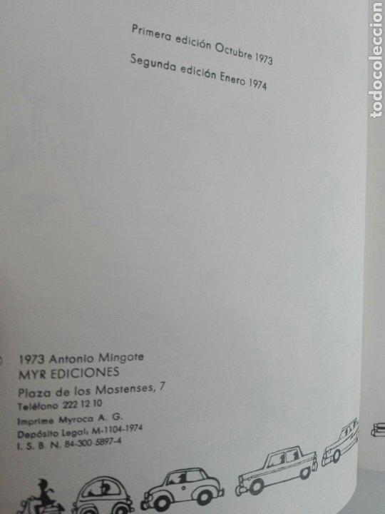 Tebeos: LA MOTORIZACIÓN- COLECCION MINGOTE N1- MYR EDICIONES- 87 PAG -1973 - Foto 4 - 215415192