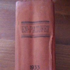 Tebeos: EN PATUFET - TOMO ENCUADERNADO - 1933 AÑO COMPLETO. Lote 215980572