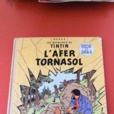 Tebeos: TINTIN EN CATALÁN 1º EDICIÓN, 1967. L'AFER TORNASOL. EDITORIAL JUVENTUD. Lote 216569200