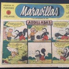 Tebeos: TEBEO COMIC MARAVILLAS BIBLIOTECA FLECHAS Y PELAYOS Nº 209. 9 DE SEPTIEMBRE DE 1943. 20 CTS. Lote 216593561