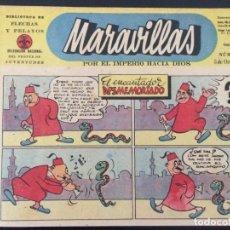 Tebeos: TEBEO COMIC MARAVILLAS BIBLIOTECA FLECHAS Y PELAYOS Nº 265. 5 DE OCTUBRE DE 1944. 20 CTS. Lote 216594681