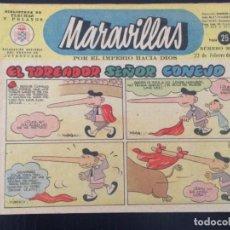 Tebeos: TEBEO COMIC MARAVILLAS BIBLIOTECA FLECHAS Y PELAYOS Nº 285. 22 DE FEBRERO DE 1945. 25 CTS. Lote 216595068