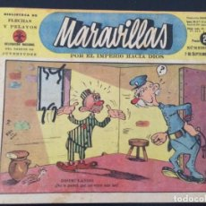 Tebeos: TEBEO COMIC MARAVILLAS BIBLIOTECA FLECHAS Y PELAYOS Nº 261. 7 DE SEPTIEMBRE DE 1944. 20 CTS. Lote 216595510