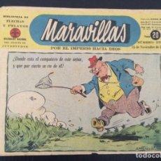 Tebeos: TEBEO COMIC MARAVILLAS BIBLIOTECA FLECHAS Y PELAYOS Nº 271. 16 DE NOVIEMBRE DE 1944. 20 CTS. Lote 216595912