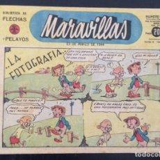 Tebeos: TEBEO COMIC MARAVILLAS BIBLIOTECA FLECHAS Y PELAYOS Nº 237. 23 DE MARZO DE 1944. 20 CTS. Lote 216597615